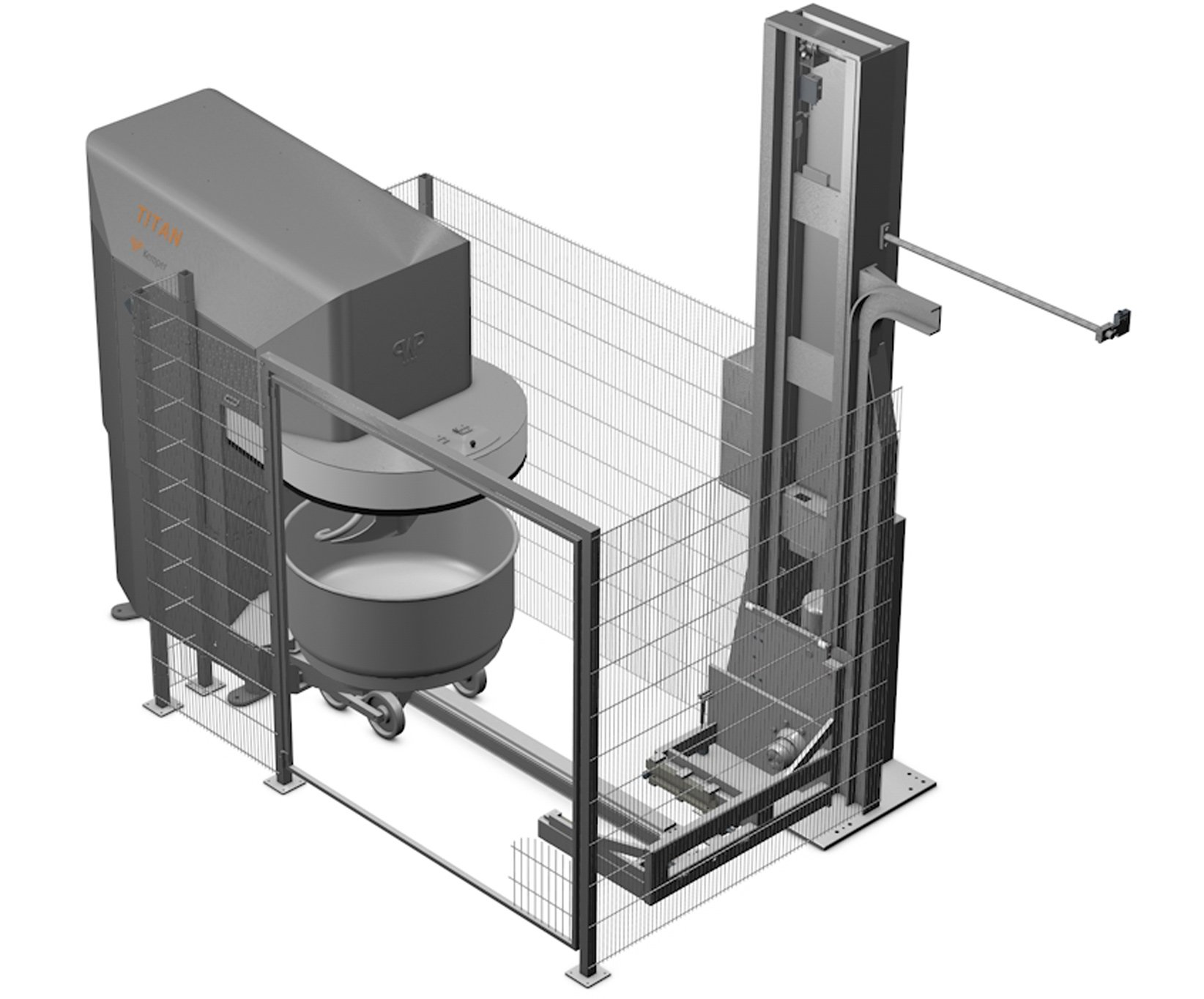 The automatic dough production AUTOMATIC TITAN - WP Kemper