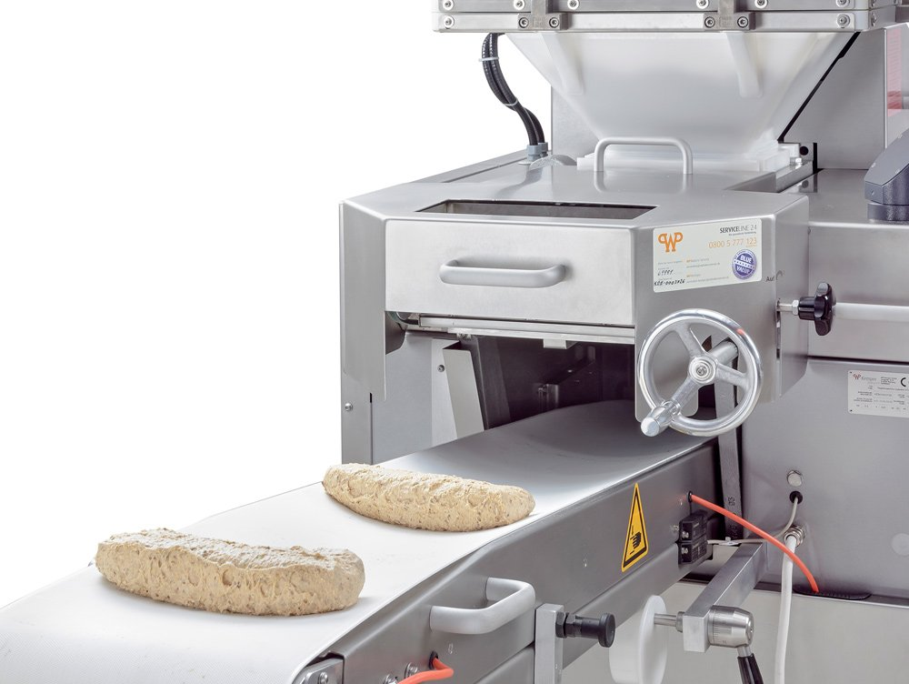 Gentle dough processing