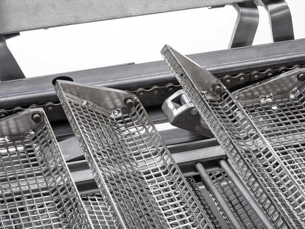 Transport baskets for products