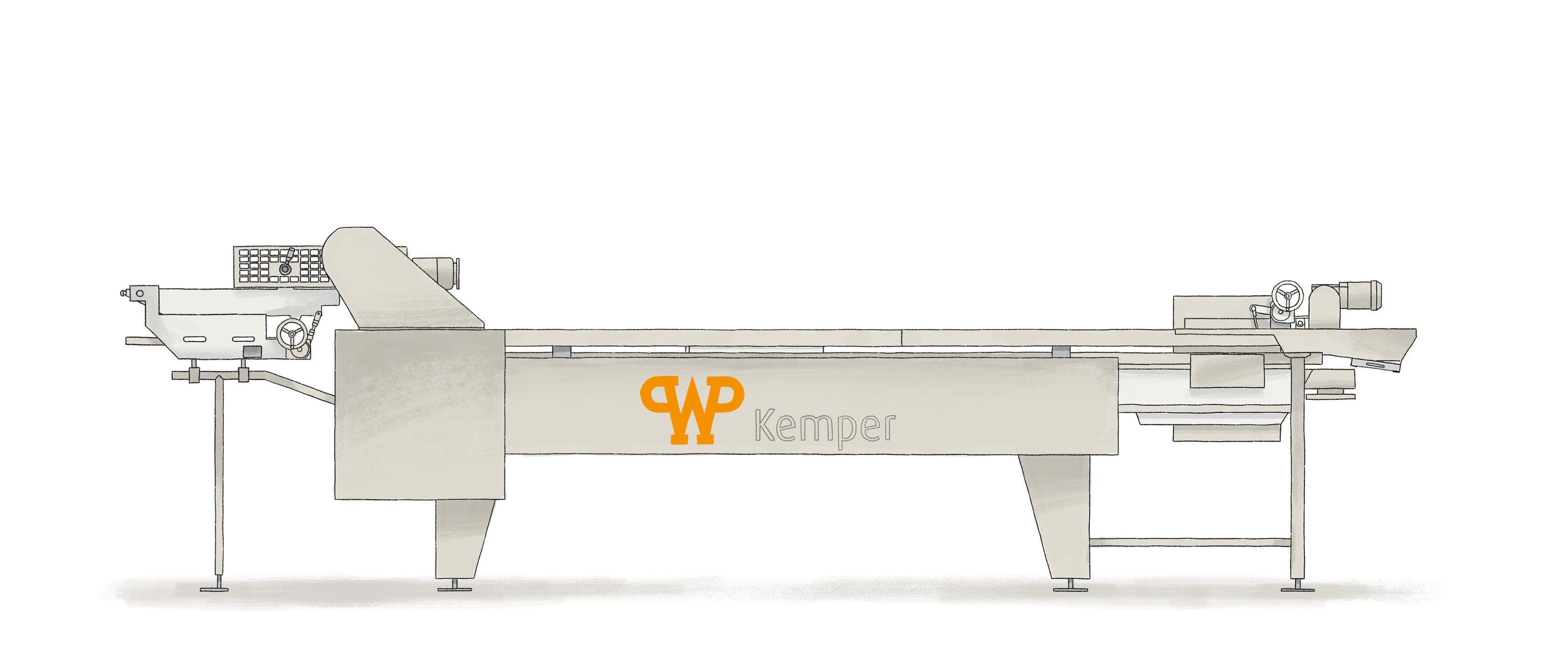 Fryer LARGO S - WP Kemper