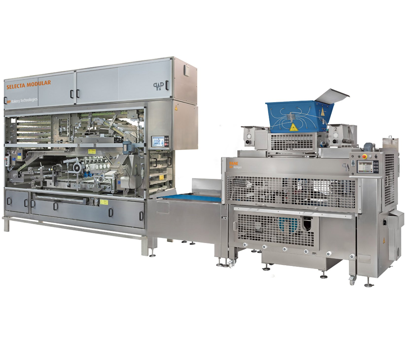Dough strip and roll line PANE KOMBI